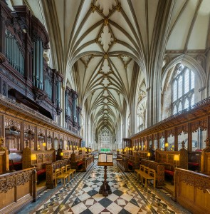 The Nave in Bristol Cathedral